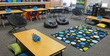 Classroom Decor / Decorating your classroom? Elementary classroom ideas galore! Classroom Decor, Back to school classrooms, classroom set up and much more!