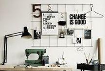 STUDIO SPACE / office decor inspiring spaces / by Jesse Petersen