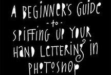 PHOTOSHOP HOW TO / Photoshop tutorials / by Jesse Petersen
