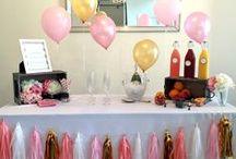 Parties/Events / Themes, design, style and décor for parties