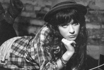 \ZOOEY/ / Zooey Deschanel - style icon / by Jessi Bingham