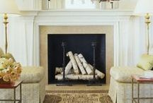 Fireplaces / Warm up to these great fireplace products and design ideas.
