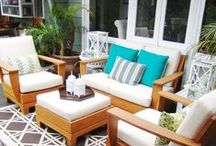 Room: Outdoors / Create a space for living in the great outdoors with some of our best ideas and pins.