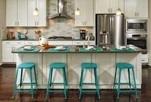 Room: Kitchens / Get cooking in a hot kitchen inspired by our favorite pins.