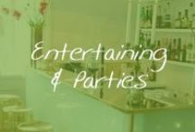 Living: Entertaining & Parties / Entertaining a crowd just got easier! Get inspired by our favorite party pins! / by Cymax