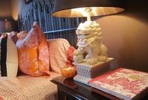 Room Color: Orange  / by Joanne Dimeff Interiors