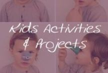 Living: Kids Activities & Projects / A great list of activities and projects to keep your little ones entertained. / by Cymax