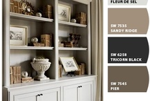 Room Color:  Gray / by Joanne Dimeff Interiors