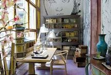 Rooms: Art Studios / by Joanne Dimeff Interiors