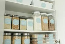 Organization / Tips and Tricks about staying organized around the home and at work