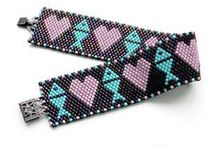 Beadwork - Украшения из бисера / Beaded jewelry - bracelets, earrings, necklaces. / by Anabel