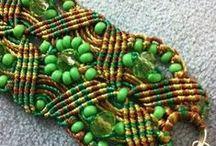 Macrame (micromacrame) Jewelry / by Anabel