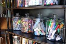 Organizing / Helpful tips, tricks and products to organize everything in your home.