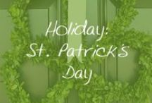 Holiday: St. Patrick's Day / Everybody is Irish one day a year. / by Cymax