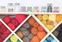 Room: Craft Rooms / Are you lucky enough to have your own craft room or just dreaming about it? We have collected some great organizing ideas and inspirational craft rooms for you to pin. / by Cymax