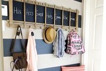 Room: Entries, Foyers & Hallways / Small spaces require clever storage solutions