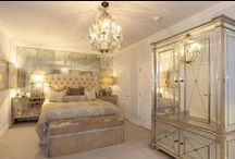 Mirrored Furniture / Mirrored furniture is a popular choice. See how to use it in your living room, bedroom & beyond.