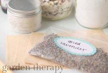DIY Natural Beauty / Make your own body scrubs, bath salts, soaps and more.