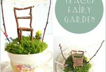 Fairy Garden / Discover the wonder of fairy and miniature gardening. Fun for adults and children alike!