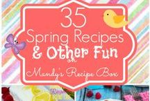 spring treats / by Mandy {Mandy's Recipe Box}