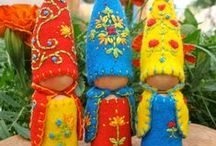 Peg Dolls / Making Peg dolls is fun and gaining in popularity. Join the fun!
