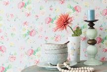 Coordonné 'Room Seven' wallpaper / Wallpapers & wall murals from Coordonné's Room Seven collections, volumes 1, 2 & 3! / by Coordonné