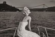 "Nicole ""Love in Istanbul"" / Nicole Spose wedding dress. Shooting in Istanbul, 2016 collection"