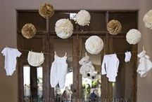 Baby Shower / Ideas/Recipes/Décor for an adorable baby shower!