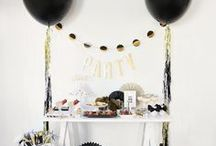 New Year's Eve Party / Recipes, décor, and theme ideas for a New Year's Eve Party