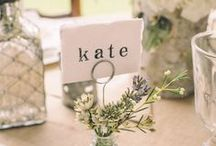 Place cards / Place cards, name plates for your next party
