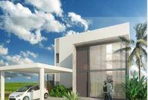 Arquitetura / Fachadas, projetos e imagens de residencias, casas e áreas externas