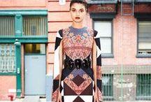 Powerful Prints / Bold, striking printed textiles are always catching my eye. / by Basya Berkman Vintage Fashions