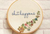 Embroidered Goodness..