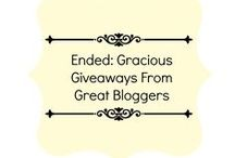 Ended: Gracious Giveaways From Great Bloggers
