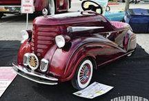 kiddie cars~trikes~and more / by Sandi White Thomas