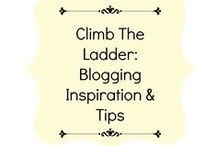 Climb The Ladder: Blogging Inspiration & Tips