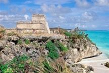 Riviera Maya / Mexico's hottest new destination on the Caribbean. Resorts, beaches, food, drinks, destination weddings  / by Travel by Lori