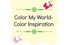 Color My World-Color Inspiration / Design Inspiration-Color Scheme