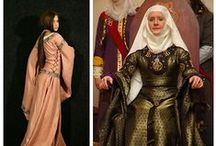 {SCA: General Garb} / Clothing inspiration mainly from 1300s to 1500s. Trecento, Quattrocento, Byzantine, Hundred Years War, early Renaissance, Burgundian court, Wars of the Roses, Auld Alliance, early Italian (Hapsburg-Valois) Wars, Kalmar Union, Crown of Aragon, etc.  / by Heather de Bruyères