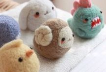 Needle felt / Different needle felt ideas