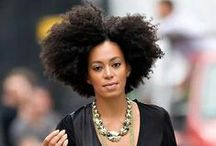 Coily Ringlets / Hairstyles for African American women...