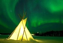 Auroras:  The Northern and Southern Lights / by Debra