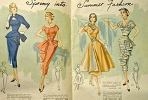 Women's Fashion early 50s / Costume design inspiration for my show, To the 38th Parallel! / by Donya Lane