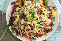Seriously Salad / For those that love salads! It not just a side dish anymore! / by Gerri Lewis-Mooney