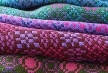 Pattern: Welsh blanket / The wonderful patterns used in Welsh blankets and tapestries.