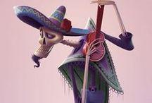 3D Render / 3D rendering in Keyshot, RenderMan, autodesk Maya