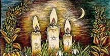 Candlemas / Candlemas is a time of year when the lengthening of daylight hours becomes noticeable. The day is celebrated because it means that winter will soon be over, and spring will come. The time of darkness and fallow earth will soon end, and new light and life-sustaining growth will come.