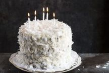 just cake recipes / and eat it too. after all, it's not a celebration without a cake, right?