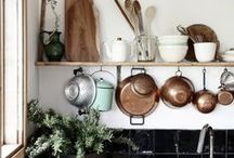 my favorite room (kitchen ideas) / i don't really care about much else, other than a large-heart-of-the-home-feel-kitchen.