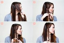 Gorgeous Manes / mostly simple hairstyles that tend to be long and wavy / by Michelle Brown